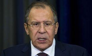 Le ministre des Affaires Etrangères russes Sergueï Lavrov le 6 mai 2016.