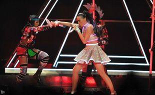 Katy Perry en concert le 11 novembre 2014 à Adelaïde (Australie)