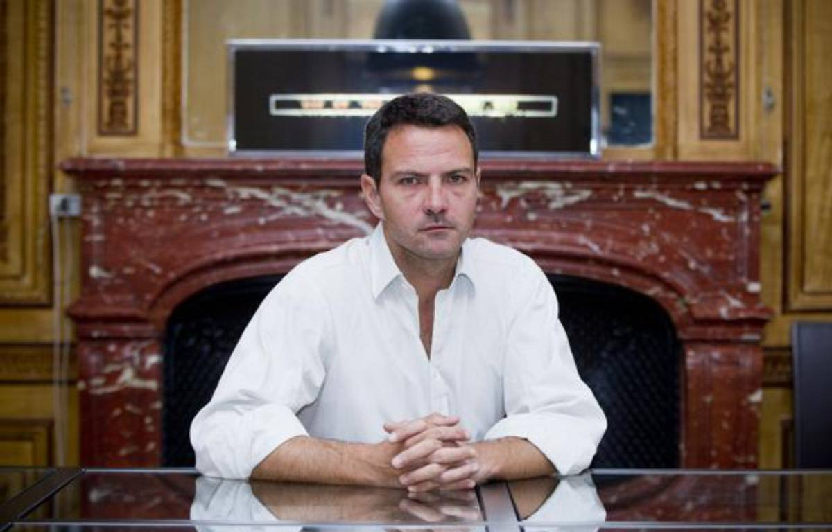 Jérôme Kerviel en interview dans le bureau de son avocat Me Koubbi, le 9 septembre 2013 à Paris. – V. WARTNER / 20 MINUTES