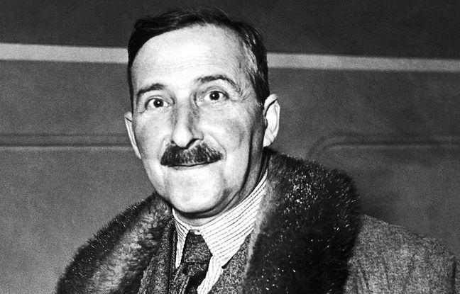 Portrait non daté de Stefan Zweig (1881 - 1942)