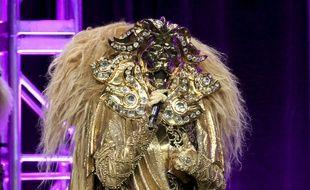 Une célébrité américaine participant à l'émission «The Masked Singer» sur la Fox, 2018