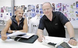 Bruno (à droite) est issu de la mode, son frère Patrick a d'abord travaillé dans la gestion.