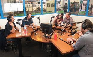 Live de Podcastéo à Ground Control le 24 juin 2017