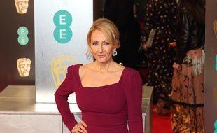 L'auteure J. K. Rowling à Londres