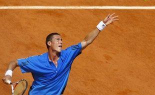Marat Safin, le 24 mai 2009 à Roland-Garros.
