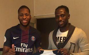 Moussa Sissoka en compagnie de Théo