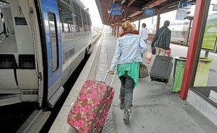 Le TER Alsace transporte en moyenne 75000 voyageurs par jour.