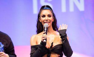 La star de la téléréalité et femme d'affaires Kim Kardashian