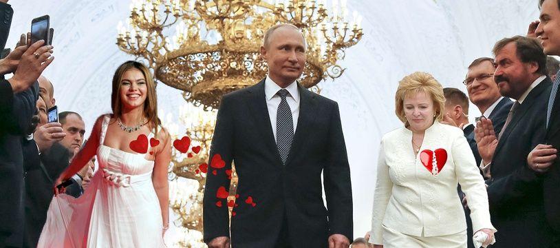 Vladimir Poutine est resté marié 29 ans avec Lioudmila Chkrebneva.