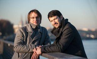 Maxime Vieville (à gauche) et Alexandre Savin, fondateurs du site Achetonslocal.com