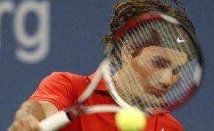 Roger Federer a assuré sa 31e victoire consécutive à Flushing Meadows le 02 septembre 2008.