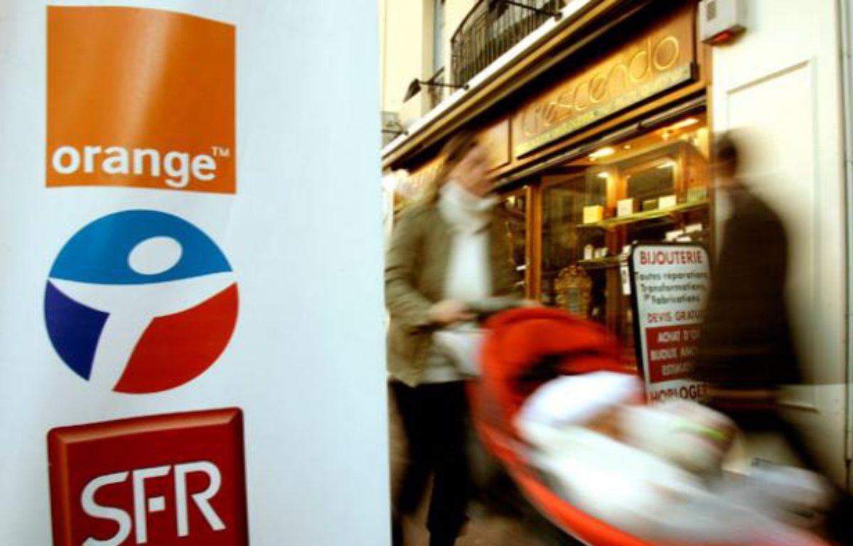 Après Orange et Bouygues, SFR a dévoilé l'impact de Free Mobile sur son parc d'abonnés le 1er mars 2012. – no credit