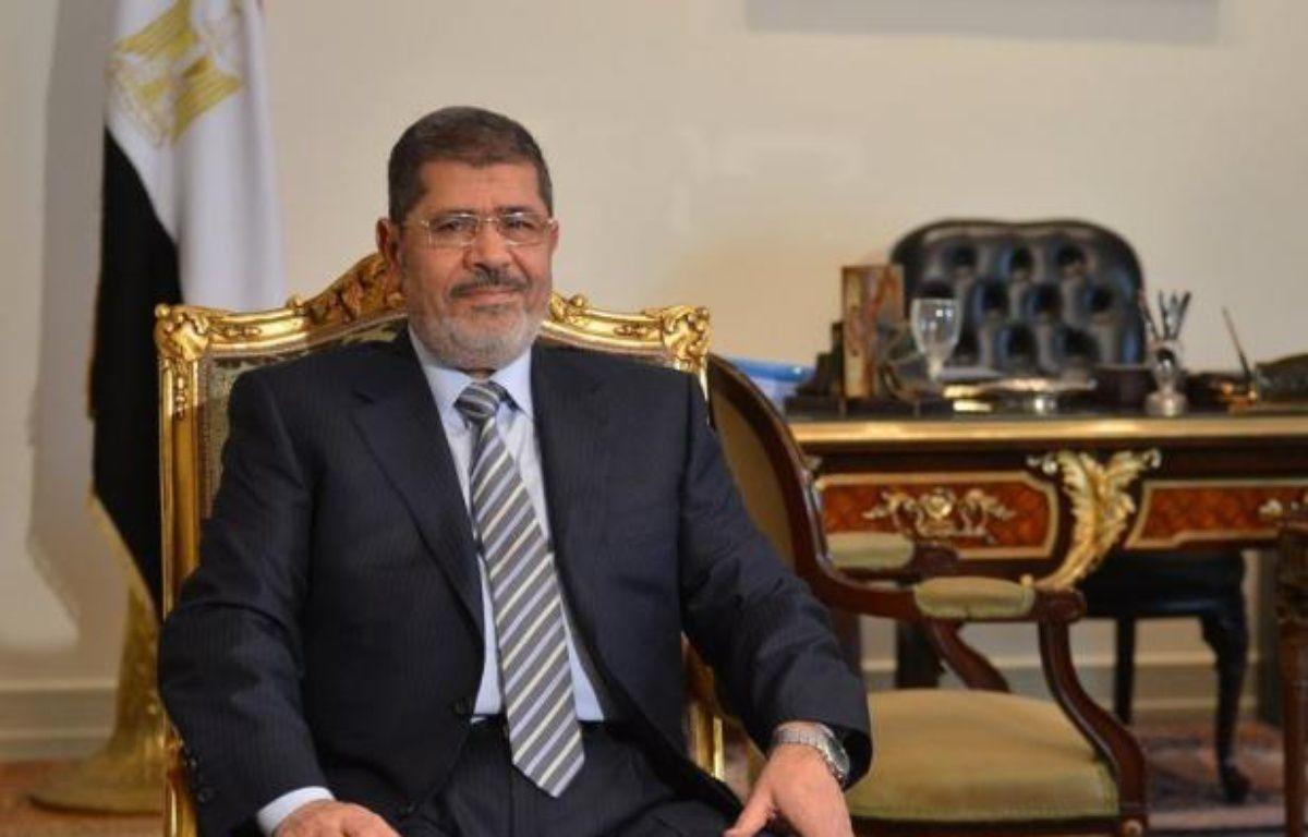 La diplomatie américaine a vivement condamné mardi des propos anti-israéliens et antisémites tenus en 2010 par l'actuel chef de l'Etat égyptien Mohamed Morsi et a exhorté le président islamiste élu l'an dernier à retirer ces remarques. – Khaled Desouki afp.com