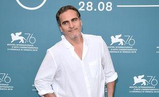 L'acteur Joaquin Phoenix à la Mostra de Venise
