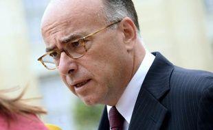 Le minsitre de l'Intérieur Bernard Cazeneuve à l'Elysée, le 9 juillet 2014
