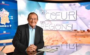 Jean-Pierre Pernaut, journaliste sur TF1 et LCI.