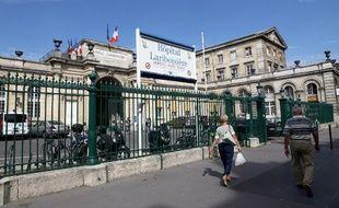 L'hôpital Lariboisière en 2013 à Paris.
