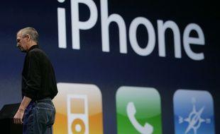 9 janvier 2007: présentation de l'iPhone bientôt surnommé le Jesus phone