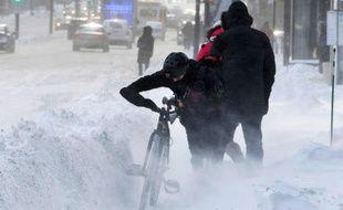 """Une bonne partie du Canada, dont Montréal, a connu ce week-end des épisodes de """"froid extrême"""" et de tempêtes de neige."""