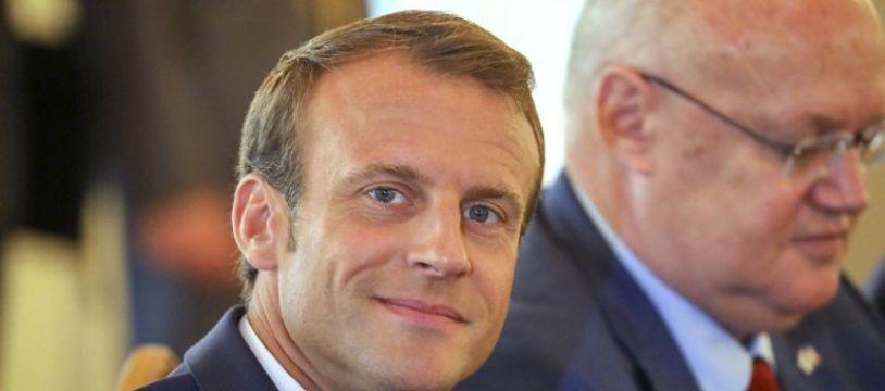 Emmanuel Macron, le 30 août 2018 en Finlande.