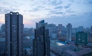 Une vue de Pyongyang (illustration).