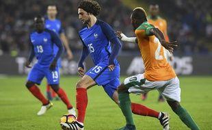 Adrien Rabiot lors de France-Côte d'Ivoire, le 15 novembre 2016.