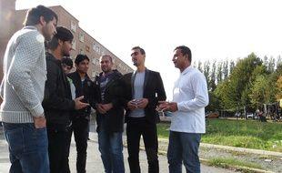 Une quinzaine de migrants afghans sont hébergés au centre d'accueil et d'orientation de Louvroil.