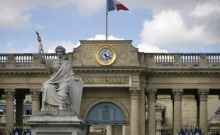 La façade de l'Assemblée nationale (illustration).