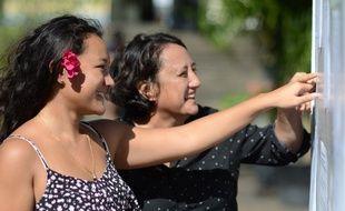 Ranitea Gobrait, en terminale S au lycée La Mennais de Papeete, est major du bac dans l'archipel.