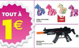 Capture d'écran du catalogue Auchan du 23 au 30 septembre 2014.