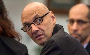 Andrew Urdiales lors de son procès à Santa Ana, en Californie, le 21 mars 2018.