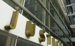 Le nouveau palais de justice de Lyon, le 14 juin 2011. CYRIL VILLEMAIN/20 MINUTES