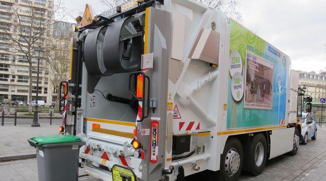 plan anti pollution paris a ses quatre premiers camions bennes lectriques. Black Bedroom Furniture Sets. Home Design Ideas