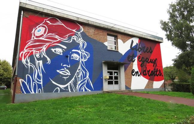 L'école Léo-Lagrange d'Haubourdin, dans le Nord.
