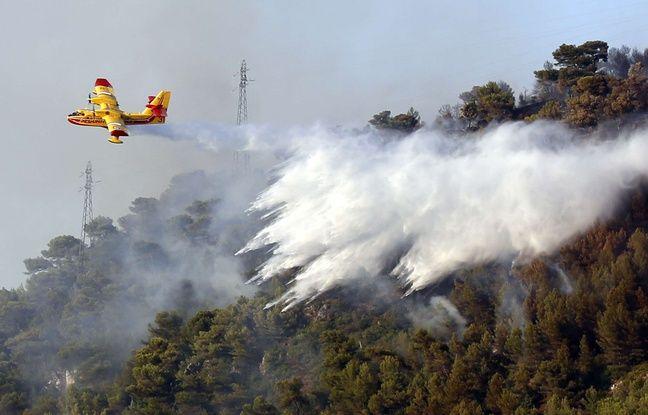Alpes-de-Haute-Provence: Une brindille en feu provoque un incendie d'une centaine d'hectares