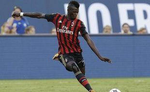 Le Milanais Mbaye Niang, le 7 août 2013 à Los Angeles.