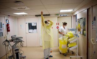 Dans un hôpital à Nantes (image d'illustration).