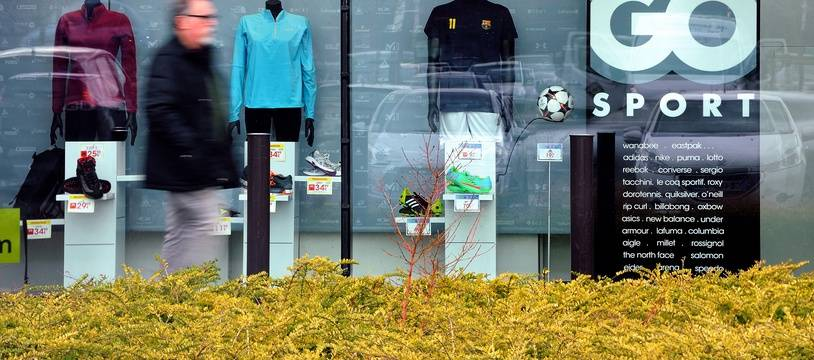 Photo d'illustration d'une boutique Go Sport en France.