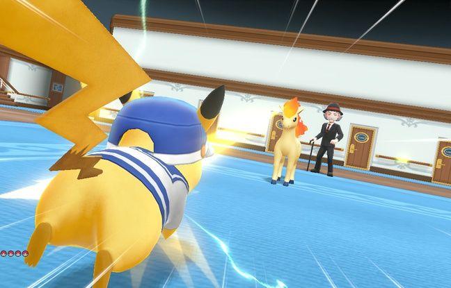 Les combats de pokémon restent aussi au coeur de l'aventure.