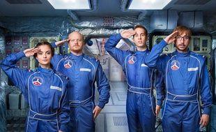 L'équipage de la série tchèque «Kosmo», présentée ce mercredi au festival Série séries.