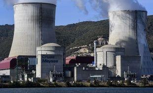 La centrale nucléaire de Cruas en 2017.