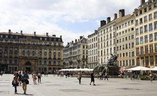 La place des Terreaux à Lyon.