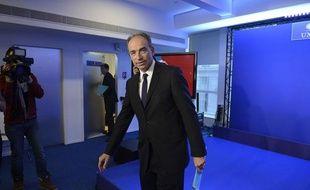 Jean-François Copé, le 8 janvier 2014 au siège de l'UMP à Paris.