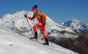 L'Azuréenne Justine Tonso est double championne du monde de ski alpinisme.