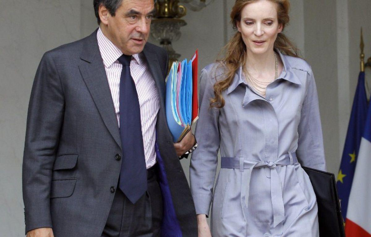 François Fillon et Nathalie Kosciusko-Morizet en 2011 – PATRICK KOVARIK / AFP