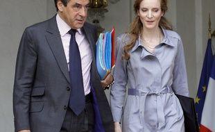 François Fillon et Nathalie Kosciusko-Morizet en 2011