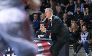 Basket: Le coach de la SIG Strasbourg, Vincent Collet. (Archives)