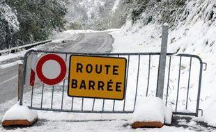 Huit départements de l'Est ont été placés en vigilance orange pour «neige et verglas»