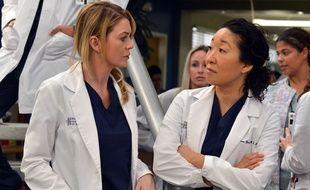 Ellen Pompeo et Sandra Oh dans «Grey's Anatomy»