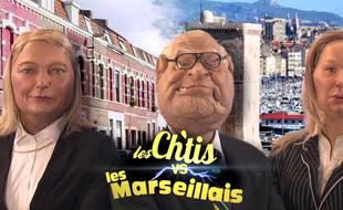 «Les Ch'tis vs les Marseillais», un sketch des «Guignols de l'info» du 14 décembre 2015.